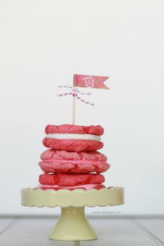 pink whoopie-pie cookies #whoopiepie