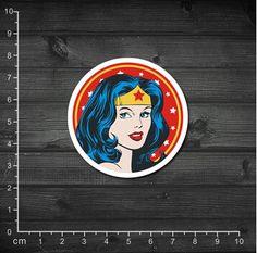 Single Vintage US Man DC Wonder Woman Wonder Woman Sticker Trolley Laptop Stickers #Happy4Sales #backpack #bag #handbags #highschool #L09582 #shoulderbags #YLEY