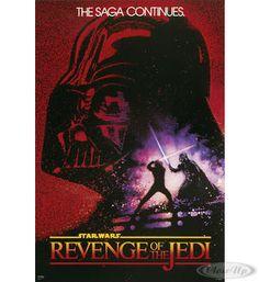 Star Wars Poster Revenge of the Jedi Hier bei www.closeup.de