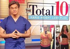 Dr. Oz Total 10 Rapid Weight Loss Diet Plan: Lose 9 Pounds In 2 Weeks Without Exercise