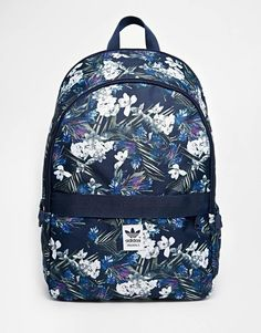 Adidas | adidas Originals Backpack in Floral Print at ASOS