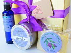 lavender gift set  bath gift set   new mom gift  by AromaScentsLLC