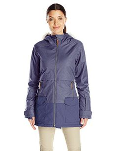 Columbia Womens Catacomb Crest Parka Nocturnal Small >>> See this great product by click affiliate link Amazon.com