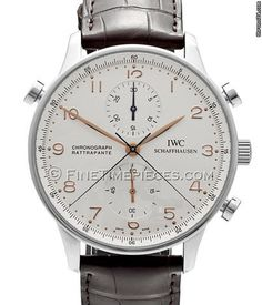 IWC Portugieser Chronograph Rattrapante Edelstahl - 3712 - 02