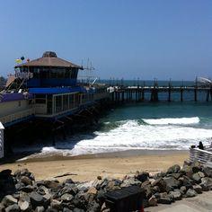 Horseshoe Pier. Redondo Beach, CA