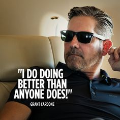 Cardone University is the Business Training Platform in the World Entrepreneur Inspiration, Motivation Inspiration, Quotes Motivation, Grant Cardone Quotes, Top Quotes, Human Mind, How To Stay Motivated, Best Self, Self Development