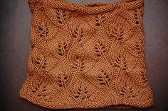 Free Pattern: Growing Leaves Cowl by Meghan Macko