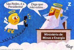 São Pedro, é a Presidenta!