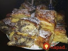 Hungarian Recipes, Strudel, Winter Food, Food To Make, French Toast, Foodies, Recipies, Deserts, Dessert Recipes