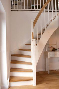 Interior Stairs House Inside Rooms Wood Staircase Attic Little