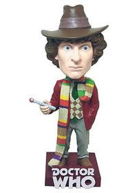 Doctor Who The Fourth Doctor Bobble Head - goHastings