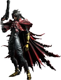 Final Fantasy VII - Vincent Valentine Kai Play Arts action figure. Can I have.