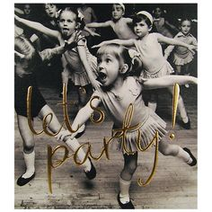 Buy Woodmansterne Little Girls Dancing Birthday Card Online at johnlewis.com