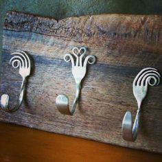 old cutlery hooks