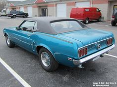 "1969 Mustang Grande ""Macho Grande"" - customer of www.RobsRodShop.com"