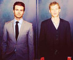 Daniel Gillies and Joseph Morgan - The Originals!