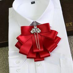 luxury men's bow tie for formal occasions groom groomsmen Presided over a formal groom wedding tie
