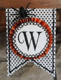 """""""Beware"""" banner (Halloween)"""