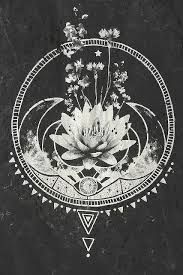 Image result for mandala lotus moon