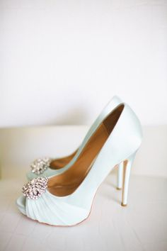 Chic romantic wedding from Adrienne Gunde Photography - wedding shoes