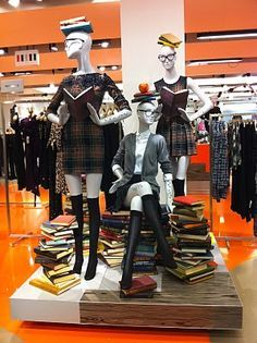 A love of Visual Merchandising This is a cool back to school display theme. - Merchandising - Ideas of Merchandising - A love of Visual Merchandising This is a cool back to school display theme.