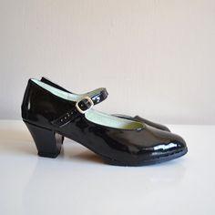 Biba Mary Janes heels Handmade to order by goldenponies on Etsy, $53.00