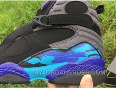 best cheap a7142 754f2 Air Jordan 8 Aqua Black Purple 41-47 8Jfw2