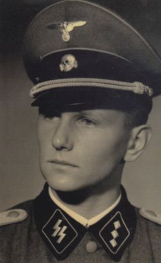 """Hans Bernhard (December 22, 1919 - October 2, 2010). Has a young soldier in the Waffen-SS I served with Infantry Regiment """"Deutschland"""" and after attending Junkerschule Braunschweig, as an officer in the Leibstandarte during World War II. I experienced war and all its horrible aspects from the beginning of the 1939 Polish campaign through the capitulation on May 8, 1945, in Austria. Source: Theodor """"Teddy"""" Wisch Kommandeur 1.SS-Panzer-Division Leibstandarte. Markus Lippl."""