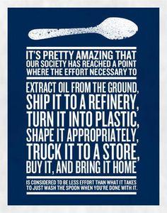 Plastic Spoon...