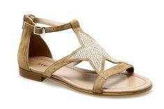 Sandales REQINS SAMOA Naturel - Chaussures femme