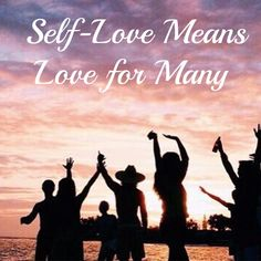 A common misconception is that self-love is egocentric, narcissistic and selfish.  It's time to blow that right out of the water.  You cannot help others unless you help yourself first.