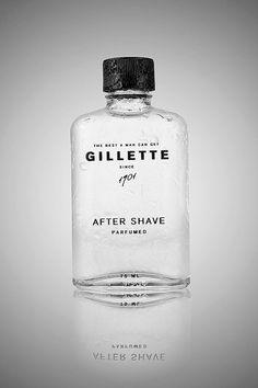 """Projet Etudiant """"Gillette Rebranding"""" : Une Identité Visuelle plus Authentique"""