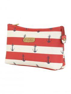 Brakeburn Anchor Wash Bag Red