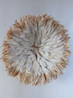 Juju Hat Bicolore Blanc Beige / Juju Hat Bicolore White Beige Paiement disponible avec PAYPAL
