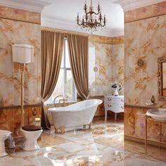 Faianta TRIP ONIX MOZAIC ofera un aspect luxos si elegant baii tale.