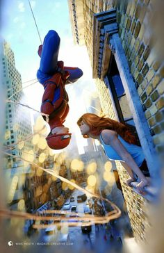Spiderman kisses Mary Jane | Ronak karia #spiderman #spidermankiss #theamazingspiderman #spidey