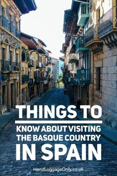9 Things To Know About Visiting The Basque Country In Spain - Hand Luggage Only - Travel, Food Portugal Travel, Spain And Portugal, Spain Travel, Travel Europe, Malaga, Menorca, Places To Travel, Places To See, Travel Destinations