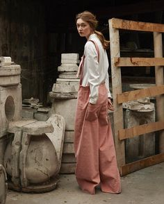 WEBSTA @ proemesdeparis - PRE ORDERS for these oversized pink dungarees will close on Sunday February 12th at midnight Paris time. Please visit our website for all the details. Following your requests we have decided to produce this piece. We can't be thankful enough for the support we received. Thanks again. #ProemesDeParis