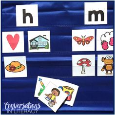 Use these picture cards for sound sorts for phonemic awareness without the letter cards or phonics word work with the letter cards! Great activities for isolating specific sounds in words. #phonics #phonemicawareness #kindergarten #firstgrade #elementary #literacycenters #conversationsinliteracy kindergarten, 1st grade, 2nd grade