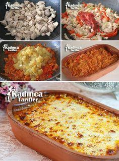 Köz Patlıcanlı Tavuk Kebabı Tarifi