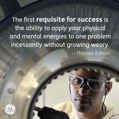 Success! #Edison #GE