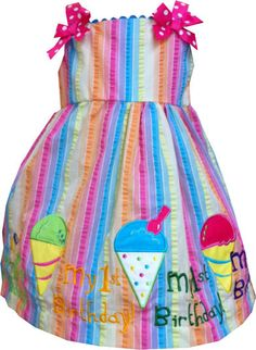 My First Birthday dress