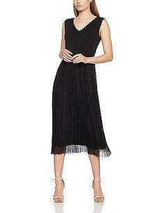 18, black 9999, Comma Women's 81704823879 Dress NEW