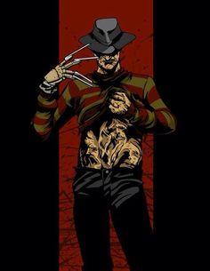 Freddy Krueger fan art