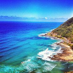 Epic view from Teddy's Lookout, Great Ocean Road, Victoria #Australia      @jding instagram