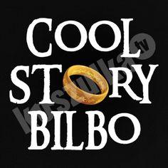 Koszulka.tv - Śmieszne koszulki z nadrukiem » Cool story Bilbo