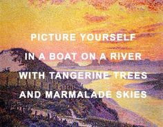 art the beatles art history lucy in the sky with diamonds Theo van Rysselberghe Sunset at Ambletsuse Beatles Quotes, Beatles Lyrics, Les Beatles, Beatles Art, Music Quotes, Music Lyrics, Lyric Art, Quotes Quotes, Qoutes