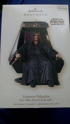 Hallmark Star Wars Emperor Palpatine Return of the Jedi