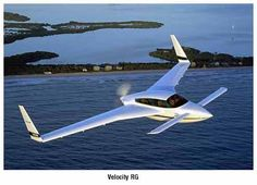 Velocity RG. What a strange and neat little aircraft. Must be fun to fly!