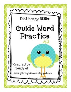helps students practice dictionary skills   # Pinterest++ for iPad #